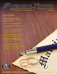 February 2016 - Riverside Lawyer Magazine