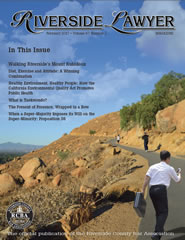 February 2017 - Riverside Lawyer Magazine