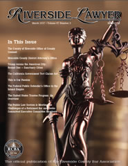 March 2017 - Riverside Lawyer Magazine