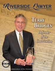July/August 2015 - Riverside Lawyer Magazine