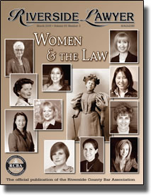 March 2015 - Riverside Lawyer Magazine