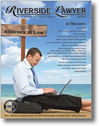 September 2013 - Riverside Lawyer Magazine